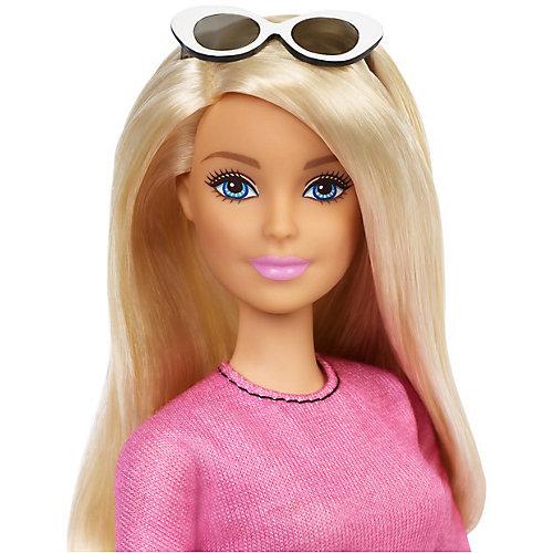 """Кукла Barbie """"Игра с модой"""" в розовой блузке и юбке в клетку, 29 см от Mattel"""