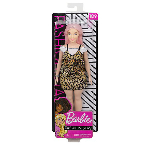"""Кукла Barbie """"Игра с модой"""" в леопардовом сарафане и топе, 29 см от Mattel"""