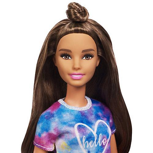 """Кукла Barbie """"Игра с модой"""" в цветном топе и джинсовых шортах, 29 см от Mattel"""