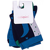 Носки, 3 пары Catimini для девочки