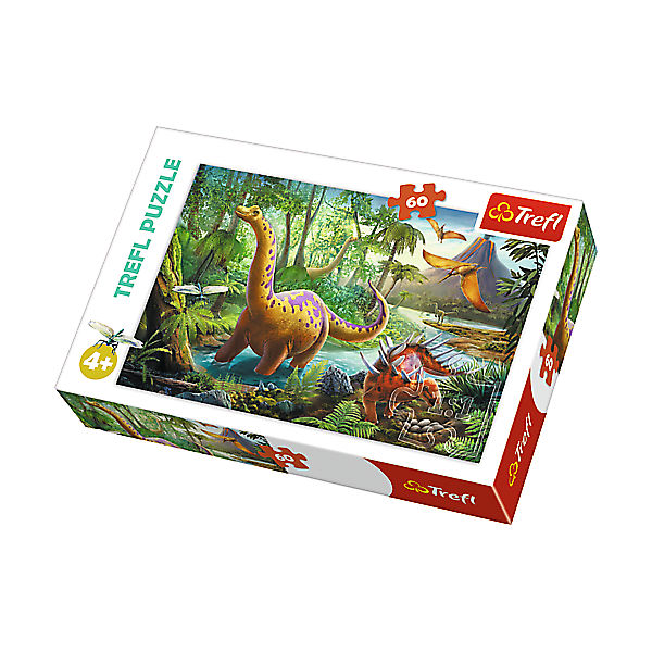Puzzle 60 Teile - Dinosaurier