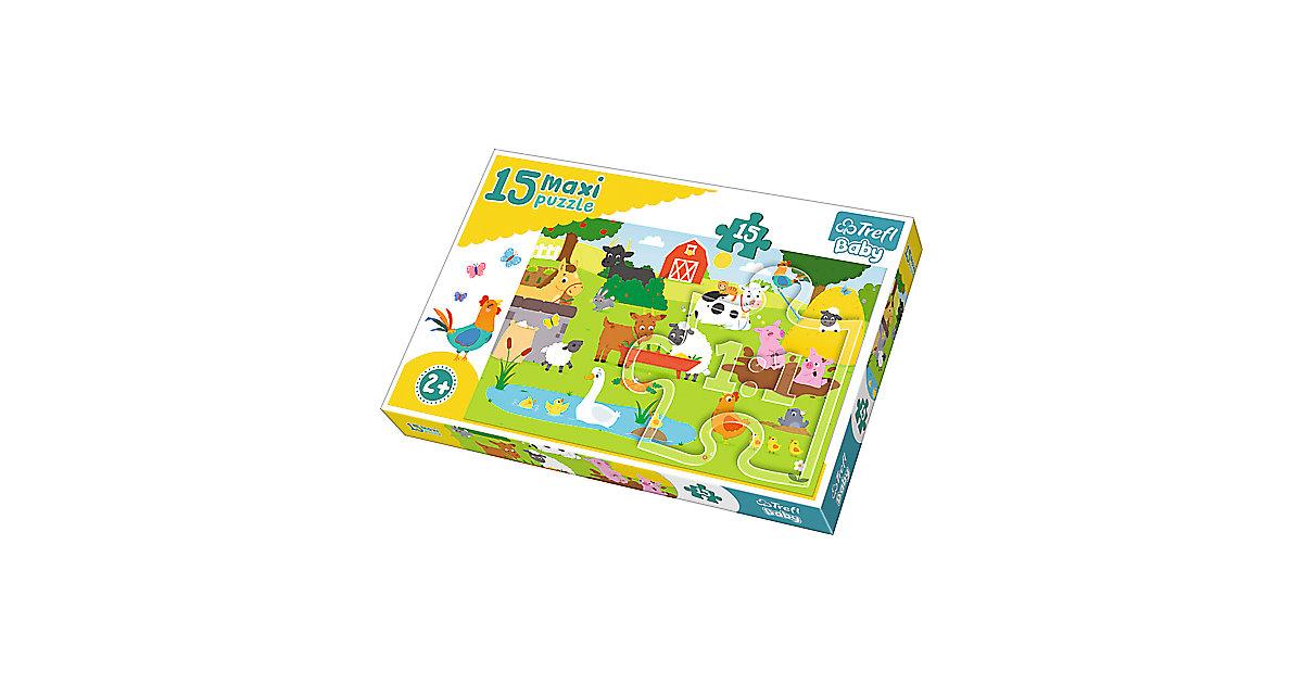 Maxi Puzzle 15 Teile - Bauernhof