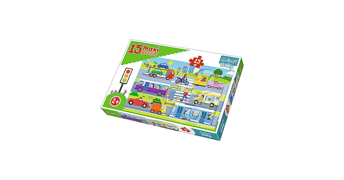 Maxi Puzzle 15 Teile - Fahrzeuge