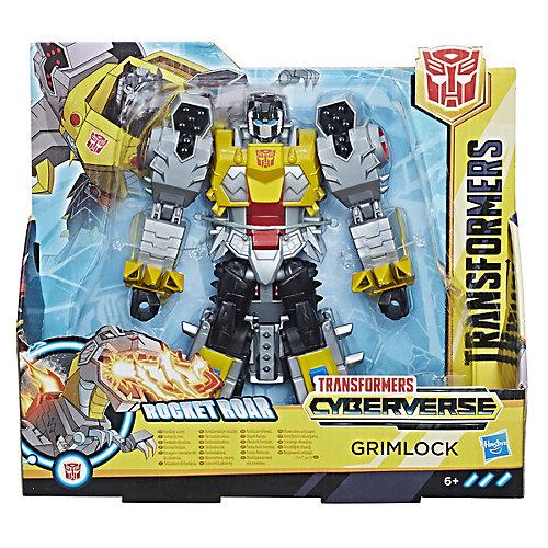 """Трансформеры Transformers """"Кибервселенная"""" Гримлок, 19 см от Hasbro"""