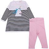 Комплект (платье+штанишки) Catimini для девочки