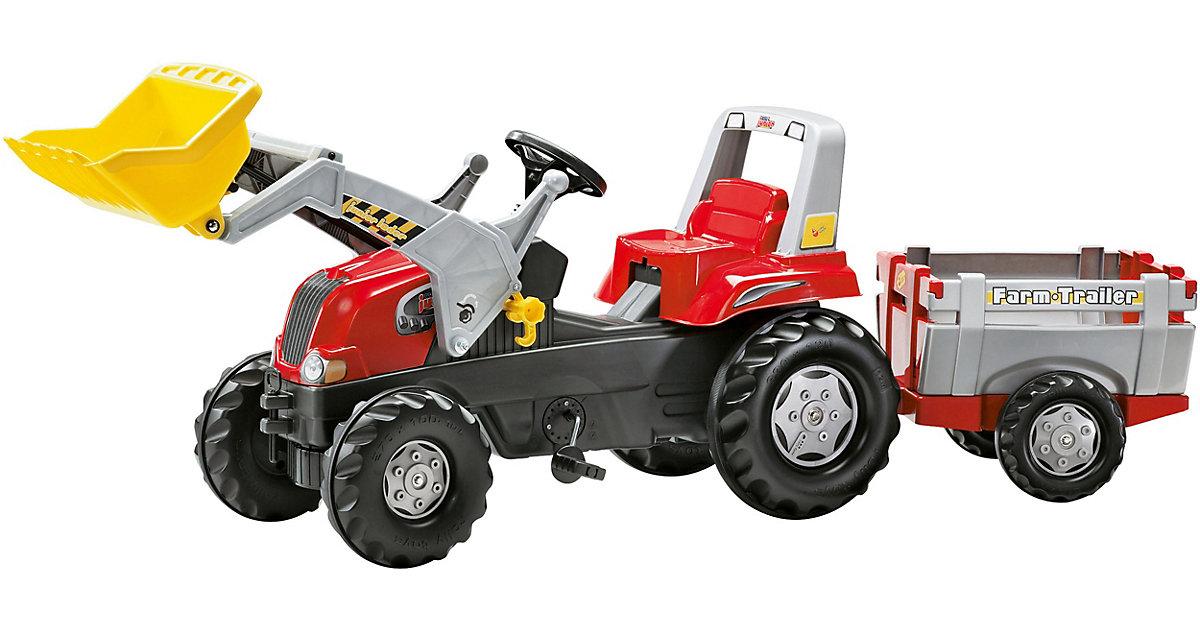 rolly toys · ROLLY TOYS rollyJunior RT mit rollyJunior Lader und rollyFarm Trailer 811397