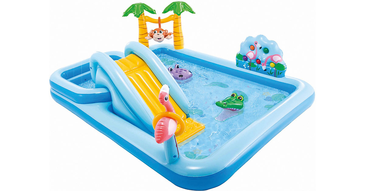 Intex Playcenter Jungle Adventure blau