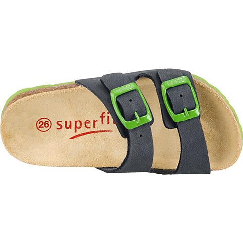 Шлепанцы Superfit - синий/зеленый от superfit