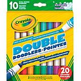 Двусторонние фломастеры Crayola