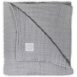 Муслиновое одеяло Jollein, 75х100 см (Серый)