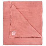 Муслиновое одеяло Jollein, 120х120 см (Коралловый)