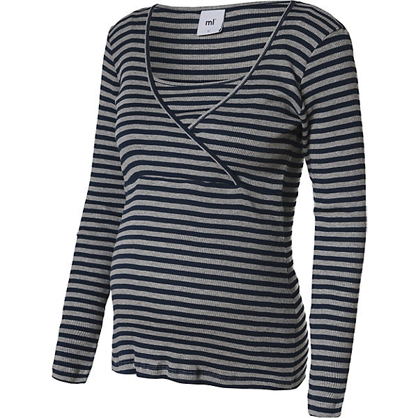 MLLOU ORG. RIB TESS YD L/S TOP NF. - Umstandsshirts - weiblich