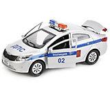 Машинка Технопарк Kia rio Полиция, 12 см