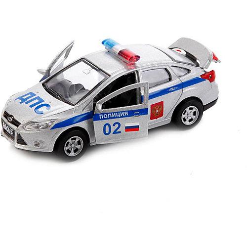 Машинка Технопарк Ford Focus Полиция, 12 см от ТЕХНОПАРК