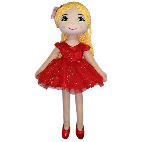 Мягкая кукла ABtoys Балерина в красной пачке, 40 см от ABtoys