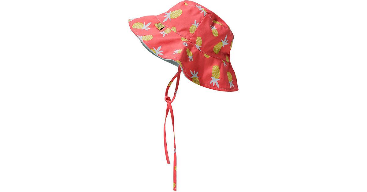 Baby Wende-Sonnenhut PINEAPPLE pink Gr. 86 Mädchen Kleinkinder