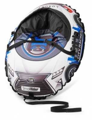 Тюбинг с сиденьем Small Rider Snow Cars 3 LX, синие