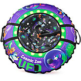Тюбинг Small Rider UFO CZ, фиолетовый волк