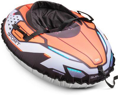 Тюбинг с сиденьем Small Rider Asteroid Sport, оранжевые