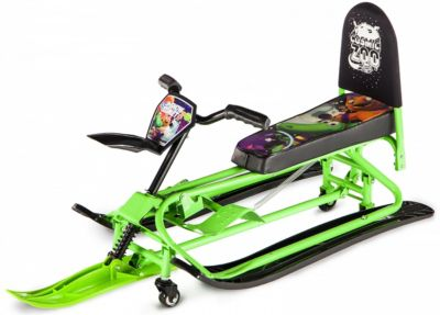 Снегокат-трансформер Small Rider Snow Comet 2, зелёный