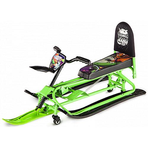 Снегокат-трансформер Small Rider Snow Comet 2, зелёный от Small Rider