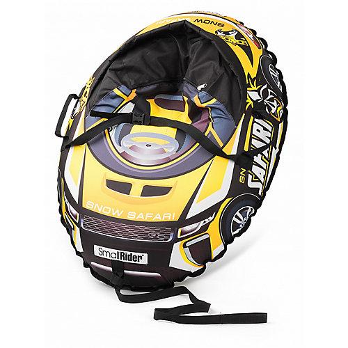 Тюбинг с сиденьем Small Rider Snow Cars 3, сафари жёлтый от Small Rider