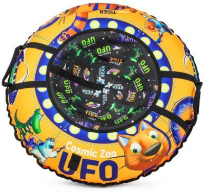 Тюбинг Small Rider UFO CZ, оранжевый тигрёнок