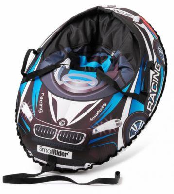 Тюбинг с сиденьем Small Rider Snow Cars 3 ВМ, чёрно-синие