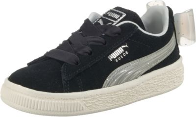 Baby Sneakers low SUEDE BOW JELLY AC INF für Mädchen, PUMA
