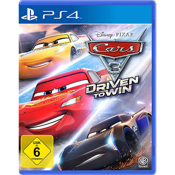 Ps4 Cars 3 Driven To Win Disney Cars Mytoys