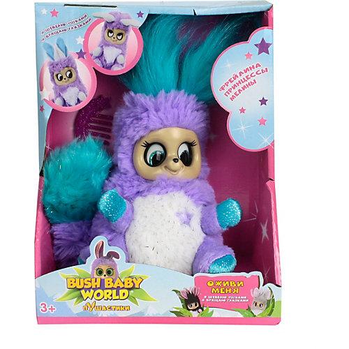 "Интерактивная мягкая игрушка 1Toy Bush baby world ""ПушАстики"" Фрейлина Леди Лекси, 14 см от 1Toy"