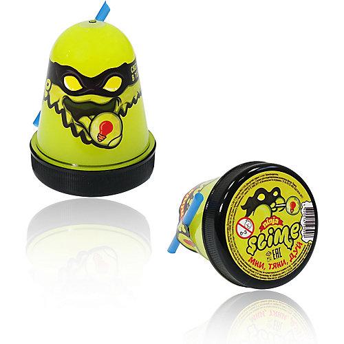 Лизун Slime Ninja светится в темноте, желтый от Волшебный мир