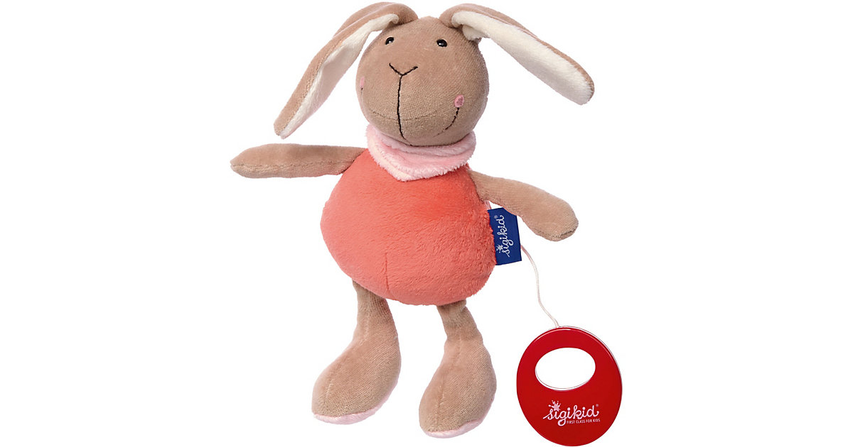 sigikid · Sigikid 41860 Spieluhr Hase lachs Blue Collection