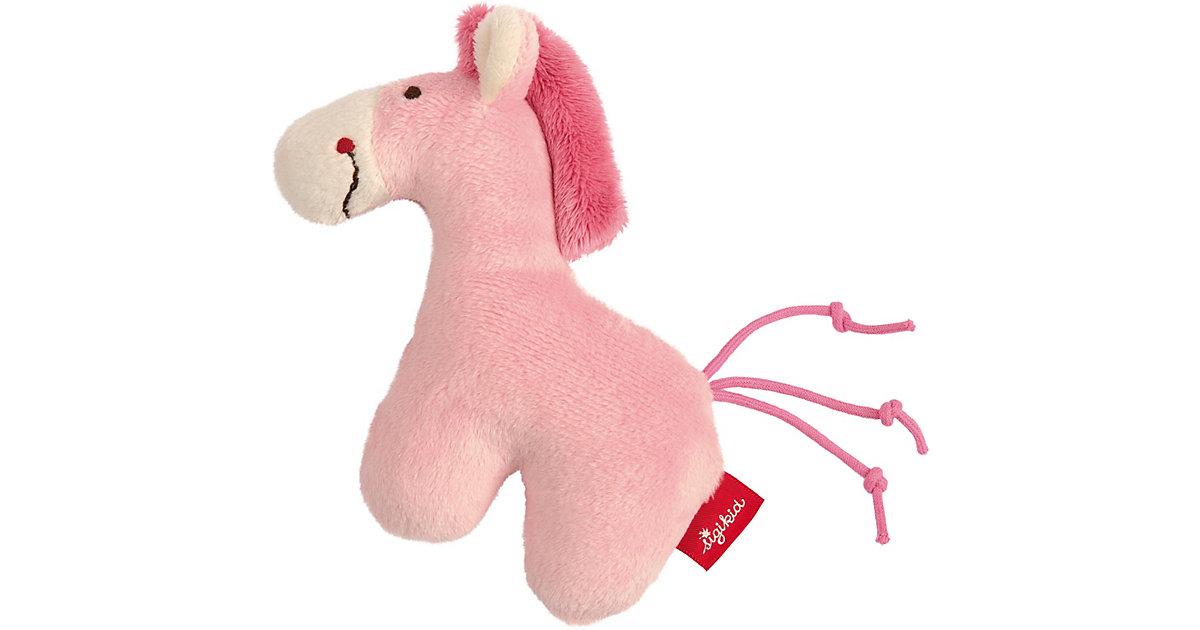 sigikid · Sigikid 42188 Rassel Pferd pink Red Stars