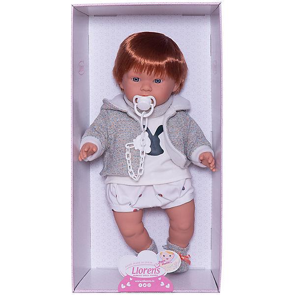 Кукла Llorens Кристиан 42 см, со звуком