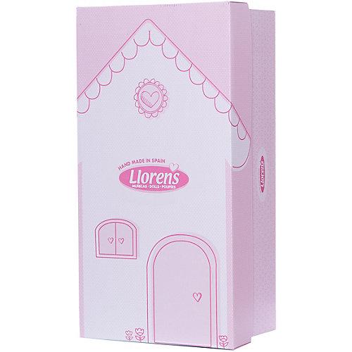 Кукла Llorens Мартина в бело-розовом, 40 см от Llorens