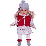 Кукла Llorens Мартина в красно-белом, 40 см