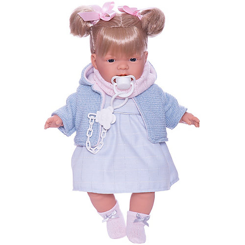 Кукла Llorens Жоэлле в голубом 38 см, со звуком от Llorens