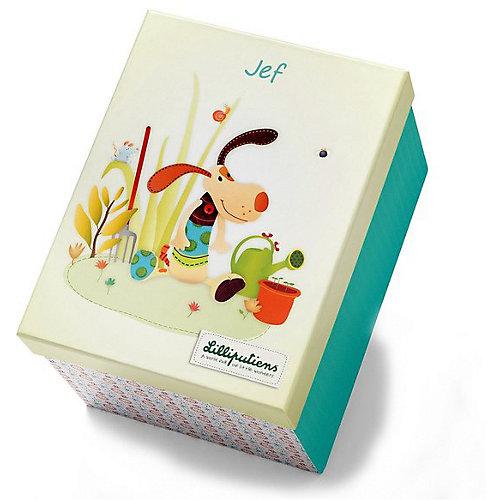 """Игрушка Lilliputiens """"Собачка Джеф"""", подарочная упаковка от Lilliputiens"""
