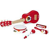 Набор музыкальных инструментов Janod, красный