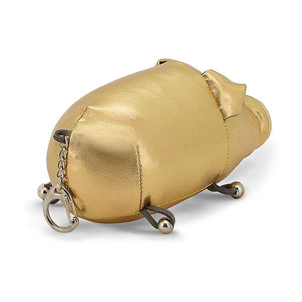 Мягкая игрушка Orange Поросёнок Гламурыш, 12 см, золотой