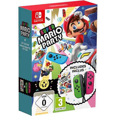 Nintendo Switch Super Mario Party + Joy-Con Set
