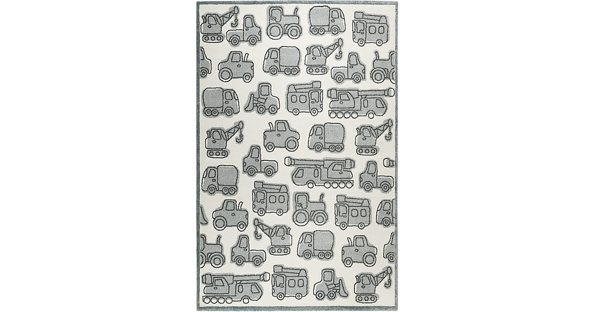 ESPRIT · ESP-21977-360 Kinderzimmerteppich Vehicles, 200 x 290 cm, hellblau