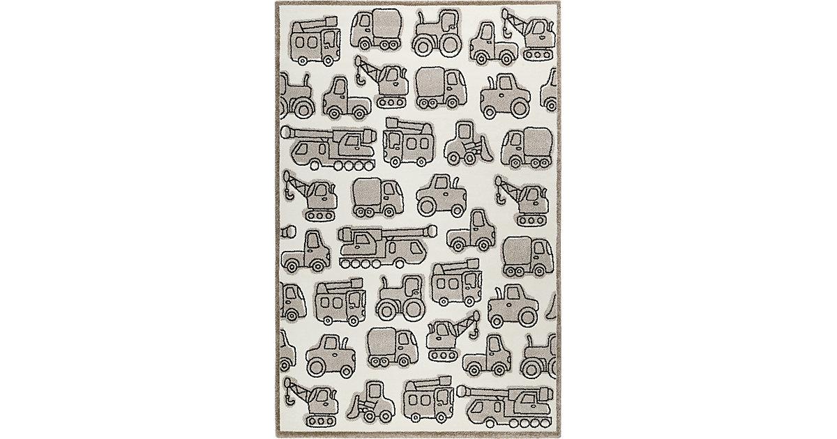 ESPRIT · ESP-21977-760 Kinderzimmerteppich, Vehicles, 133 x 200 cm, taupe Gr. 130 x 225