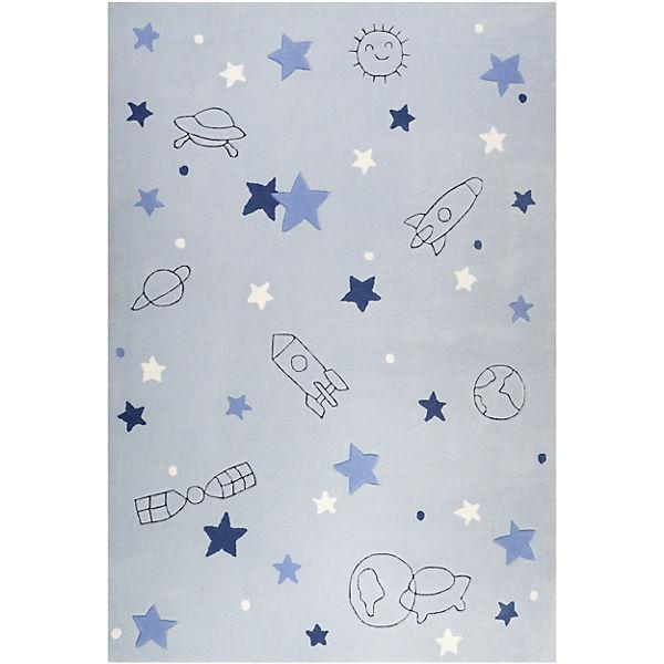weltweite Auswahl an glatt Vereinigte Staaten ESP-4270-02 Kinderzimmerteppich Han, 170 x 240 cm, silber, ESPRIT