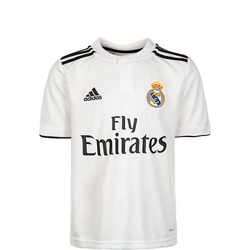 ADIDAS,ADIDAS PERFORMANCE Kinder Trikot Real Madrid Trikot Home 2018/2019 Gr. 176   04060509910084