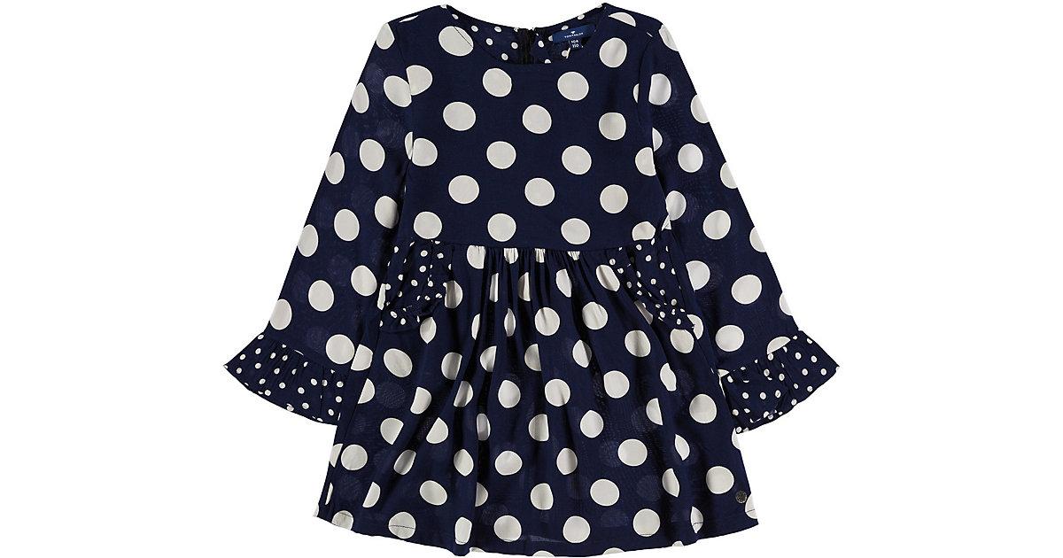 TOM TAILOR · Kinder Kleid aus Viscose Gr. 116/122 Mädchen Kinder