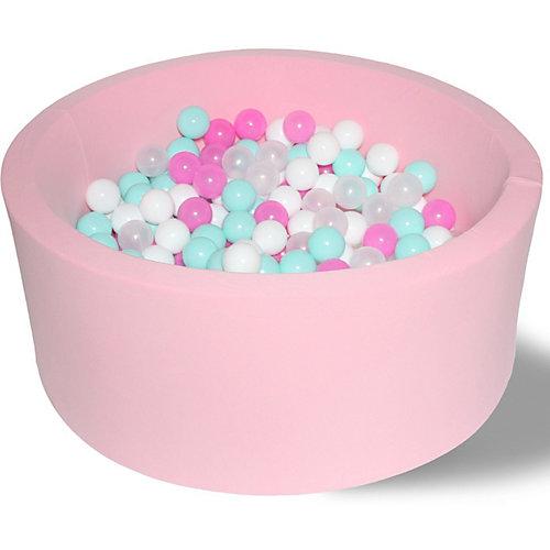 """Сухой бассейн Hotenok """"Розовая мечта"""" 40 см, 200 шариков от Hotenok"""