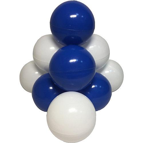 """Шарики для сухого бассейна Hotenok """"Морские пузыри"""" 50 шт, синие и белые от Hotenok"""