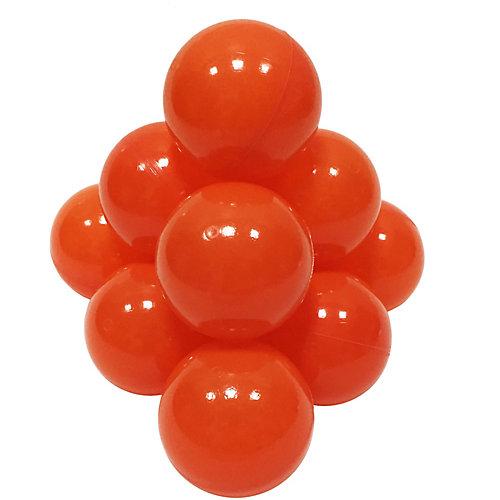 Шарики для сухого бассейна Hotenok 50 шт, 7 см, оранжевые от Hotenok